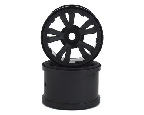 "Arrma MT 3.8"" 17mm Hex Wheels Black ARAC9465"