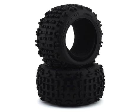 "Arrma Backflip 3.8"" LP Tires with Foam Inserts ARAC9435"