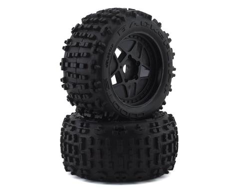 "Arrma dBoots Backflip LP 4S 3.8"" Mounted Tires Black ARAC9468"