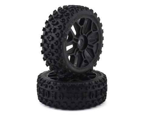 Arrma Typhon BLX 4x4 dBoots 2HO Glued Tire Set Black ARA550057