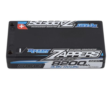 Reedy Zappers HV SG2 1S 80C LiPo Battery w/4mm Bullets (3.8V/8200mAh)