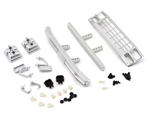 Associated CR12 Ford F150 Grill and Accs Set Chrome ASC41081