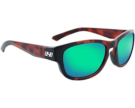Optic Nerve Vesper Sunglasses (Matte Dark Demi) (Smoke Green Revo Lens)