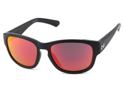 Optic Nerve Vesper Sunglasses (Matte Black) (Smoke Red Revo Lens)