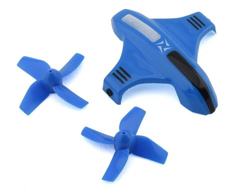 Blade Inductrix Switch Canopy Option Set (Blue) with Props BLH9809