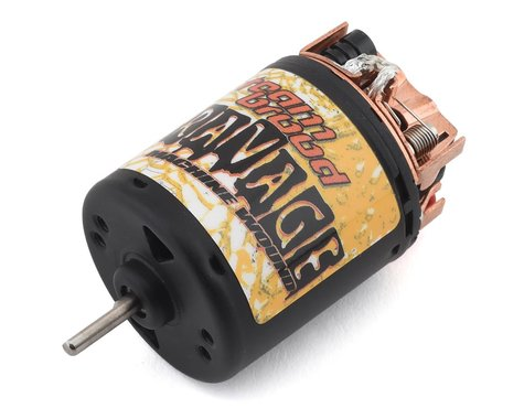 Team Brood Ravage Machine Wound 540 5 Segment Dual Magnet Brushed Motor (13T)