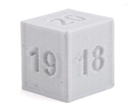 Cheater Racing Ride Height Block Gauge (White) (18-20mm)