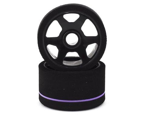 Contact LMP12 USA Spec 1/12 Foam Front Tires (2) (Purple)