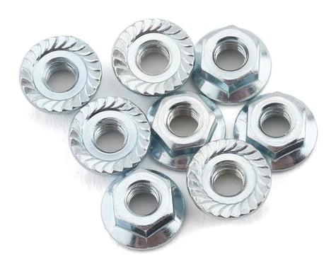 Custom Works M4 Serrated Flanged Wheel Nuts (8)