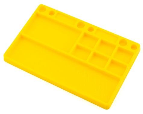 JConcepts Dirt Racing Rubber Parts Tray Yellow JCO8117