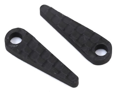 Exotek Carbon LiPo Battery Hold Tabs (2)
