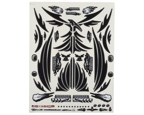 "Firebrand RC Concept Phoenix Decal (Black) (8.5x11"")"