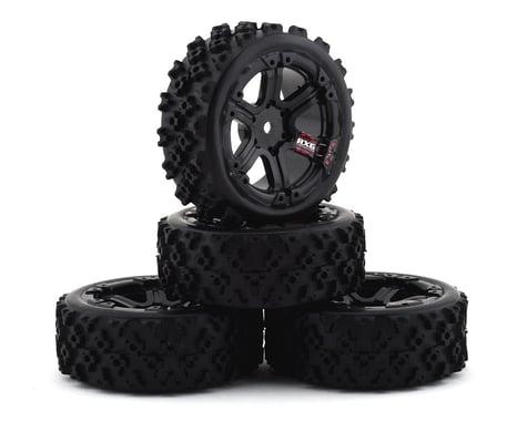 Firebrand RC SnakeEye RXG3 Gymkhana Pre-Mounted Rally Tires (4) (Black)