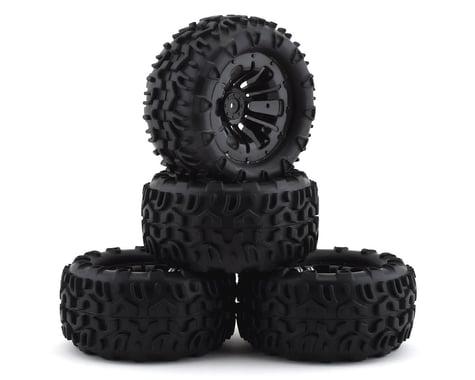 Firebrand RC Terrafire MTX Pre-Mounted Off Road Tires (4) (Black)
