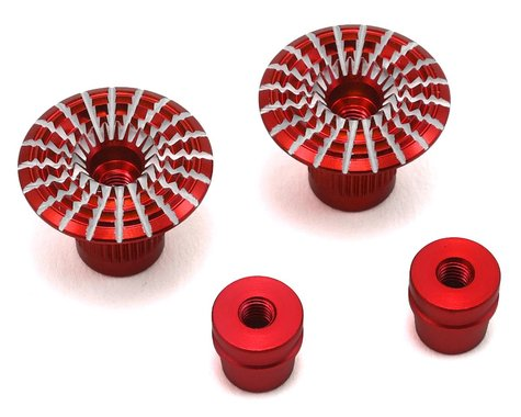 FrSky Umbrella Style 3D M3 Gimbal Stick End (Red)