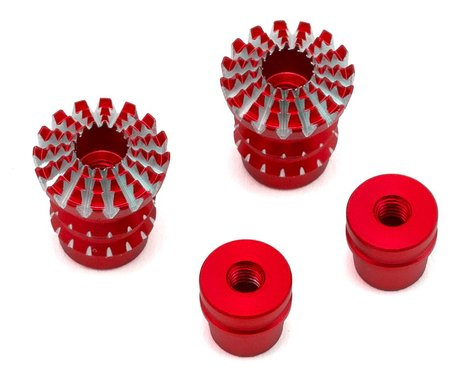 FrSky Lotus Style 3D M3 Gimbal Stick End (Red)