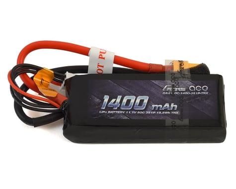 Gens Ace 1400mAh 11.1V 50C 3S1P Lipo Battery Pack with XT60 Plug GA-B-50C-1400-3S1P-XT60T