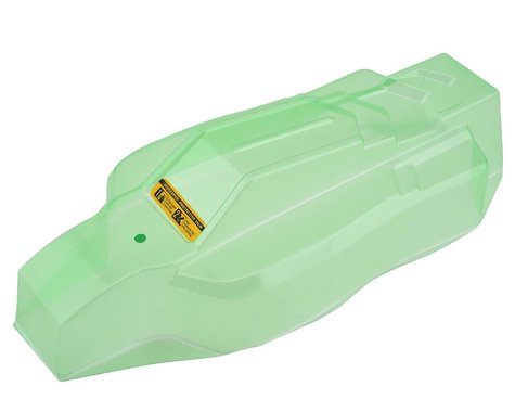 JConcepts D418 F2 LGHTWT Clear Body with Aero S-Type Wing JCO0361L