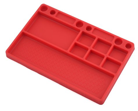 JConcepts Rubber Parts Tray Red JCO25507