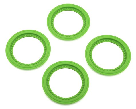 JConcepts Tribute Wheel Mock Beadlock Rings Green (4) JCO26515