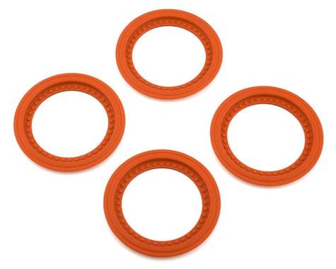 JConcepts Tribute Wheel Mock Beadlock Rings Orange (4) JCO26516