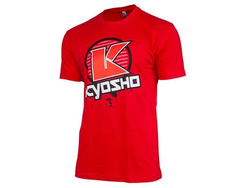 "Kyosho ""K Circle"" Short Sleeve T-Shirt (Red) (2XL)"