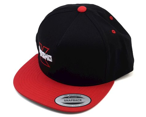 Kyosho Snap Back Hat (Red) (One Size Fits Most)