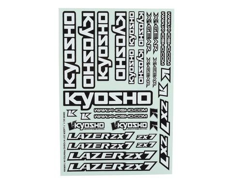 Kyosho ZX7 Decal Sheet