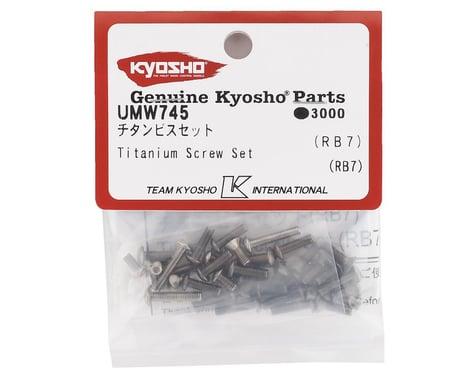 Kyosho RB7 Titanium Screw Set (36)