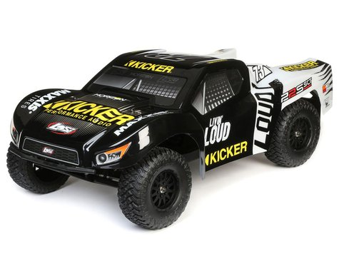 Losi 1/10 22S 2WD SCT Brushed RTR Short Course Truck (Black)