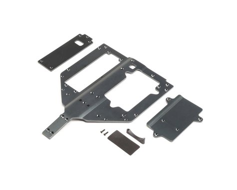 Losi Super Rock Rey Chassis Motor & Battery Cover Plates LOS251083