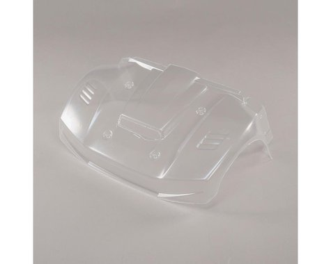 Losi 5IVE-T 2.0 Clear Front Hood Section LOS350005