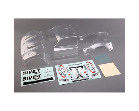 Losi 5IVE-T 2.0 Complete Body Set Clear LOS350006