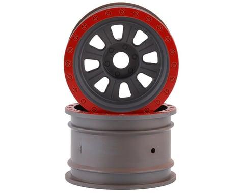 Losi Super Rock Rey Wheels Silver LOS45027