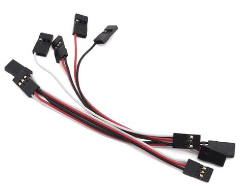 MSHeli Standard Servo Extension Cable Set (125mm) (Male/Male)