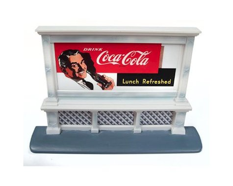 Classic Metal Works HO Billboard, Coca-Cola