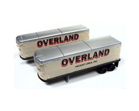 Classic Metal Works N 1941-1950 AeroVan Trailer, Overland Freight (2)