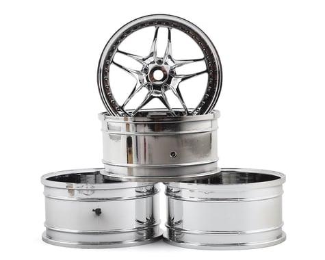 MST FB Wheel Set (Chrome) (4) (+11 Offset)