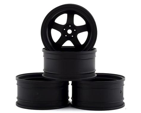 MST SP1 Wheel Set (Flat Black) (4) (+9 Offset)