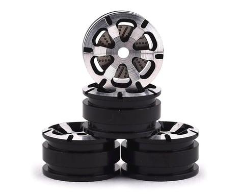 Orlandoo Hunter Aluminum 6 Spoke Wheel Set w/Brake Rotor (Silver) (4)