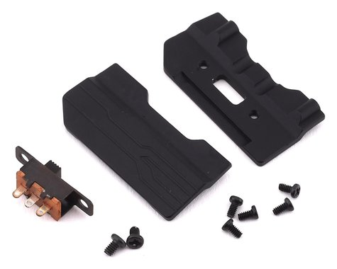 Orlandoo Hunter OH35A01 Aluminum Sliders w/Switch & Switch Mount (Black)