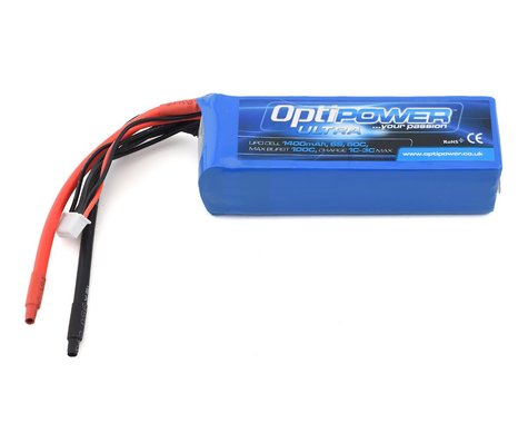 Optipower 6S 50C LiPo Battery (22.2V/1400mAh)
