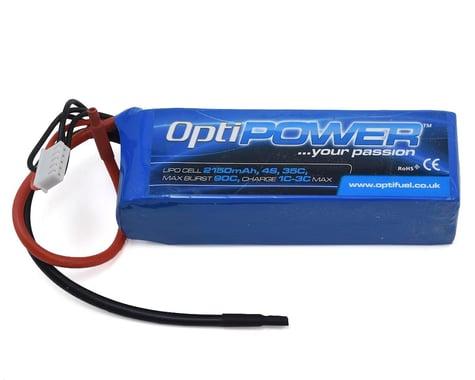 Optipower 4S 35C LiPo Battery (14.8V/2150mAh)