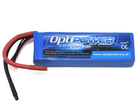 Optipower 4S 50C LiPo Battery (14.8V/2500mAh)