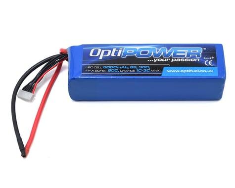 Optipower 6S 30C LiPo Battery (22.2V/5000mAh)