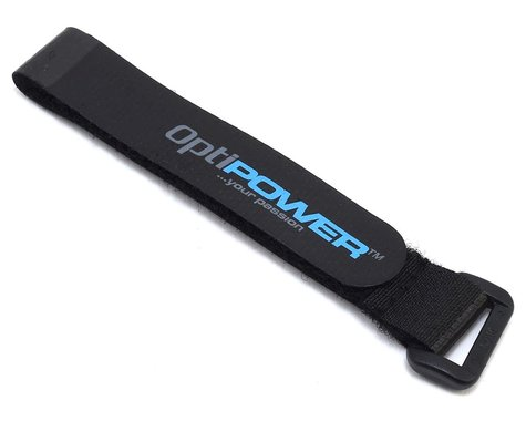 Optipower Hook and Loop Battery Strap (Extra Small) (16x190mm)