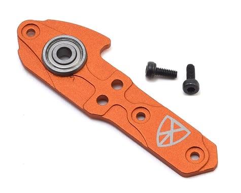OXY Heli Aluminum Tail Case Plate (Orange) (Oxy 3)