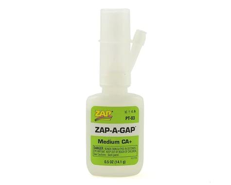 Zap Adhesives PT03 Zap A Gap CA+ Glue .5 oz PAAPT03