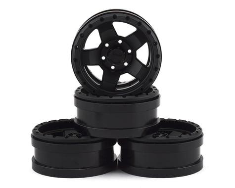 Pit Bull Tires 1.9 Raceline Combat Alum Wheels Blk (4) PBTPBW19CMBB
