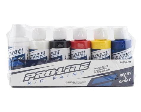 Pro Line RC Body Paint Primary Color Set (6 Pack) PRO632300